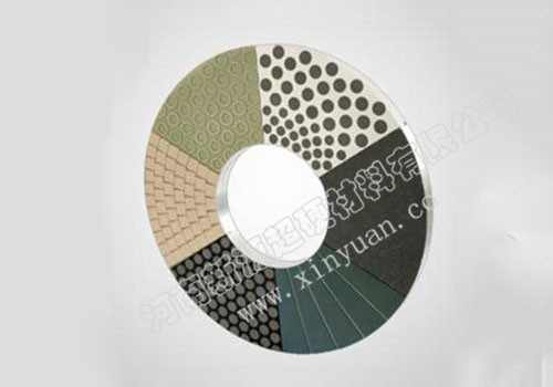 Vitrified superhard material disc