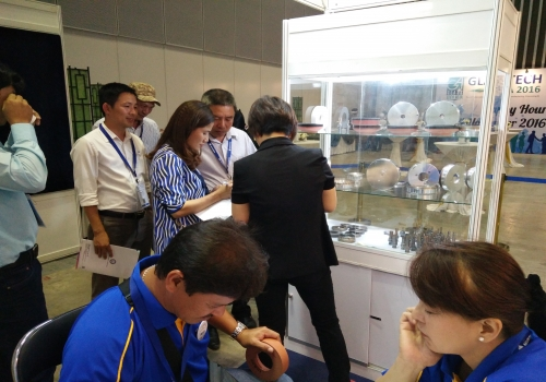 XINYUAN Diamond Wheel will join the GlassTech Asia 2017 in Singapore
