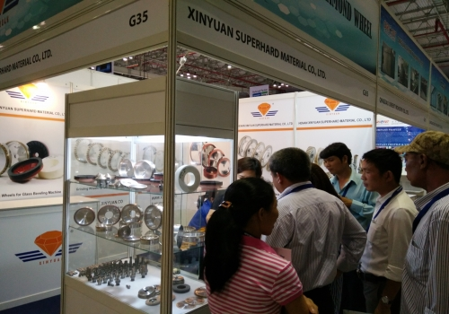 XINYUAN GRINDING WHEEL Exhibiting at GlassBuild America 2017