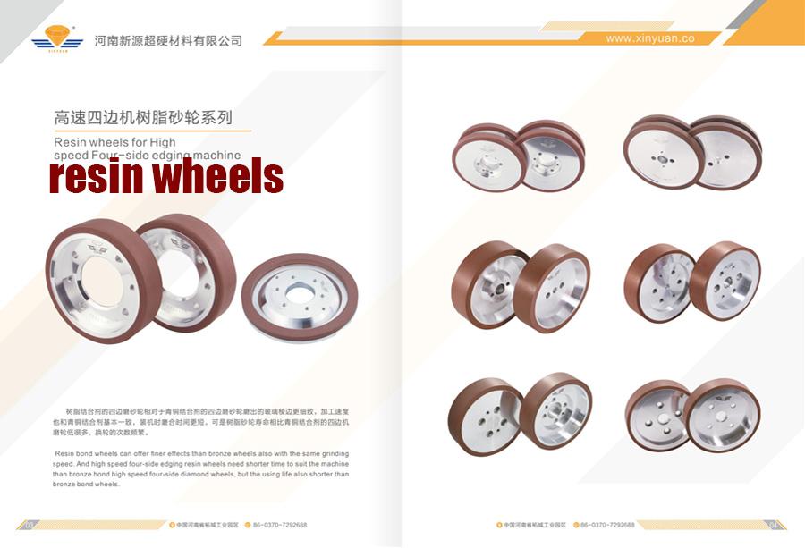 新源砂轮之高速四边机树脂砂轮